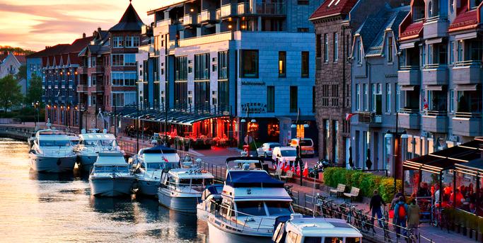 keindahan ibu kota norwegia